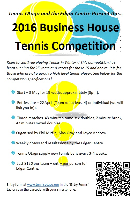 Promotion for Winter Doubles